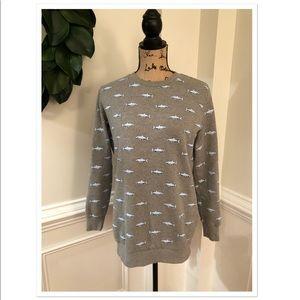 F21 Shark Sweat Shirt